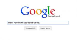 Internetwerbung für Ärzte